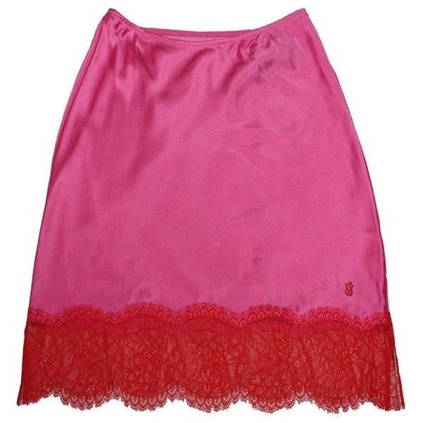 Victoria's Secret Sexy Silk Half Slip Lace Skirt