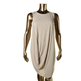 Rachel Rachel Roy Womens Casual Dress Modal Draped Front