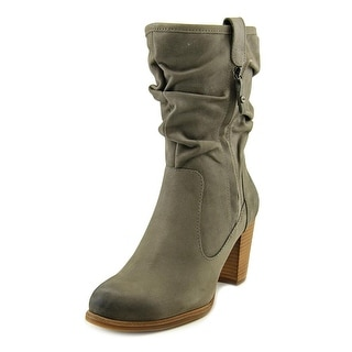 Ugg Australia Dayton Women  Round Toe Leather Gray Mid Calf Boot