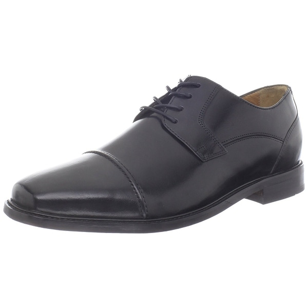 Florsheim Men's Asset Cap Oxford, Black, Size 11.0 - 11