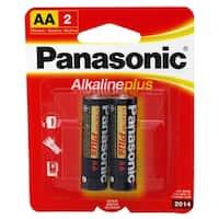 2-pc. AA Alkaline Batteries
