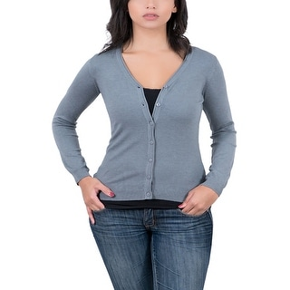 Real Cashmere Grey Cardigan Womens Sweater