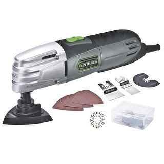 Genesis GMT15A Multi-Purpose Oscillating Tool, Corded, Grey