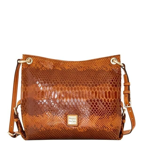 Dooney & Bourke Snake Frederica Bag (Introduced by Dooney & Bourke at $248 in Jul 2016) - Saddle
