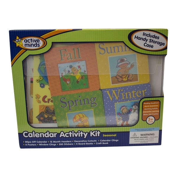 Active Minds Seasonal Calendar Activity Kit - Multi-Color