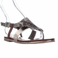 Kenneth Cole REACTION Mel-Inda Flat Thong Sandals, Charpew - 6.5 us