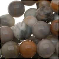 Matrix/Picasso Jasper Round Beads 6mm / 15.5 Inch Strand