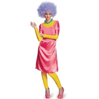 Disguise Patty Deluxe Adult Costume - Pink - Small/Medium
