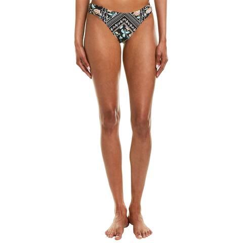 Nanette Lepore Swim Diamond Vine Siren Bikini Bottom