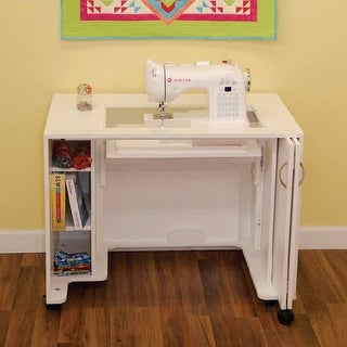 Arrow Mod Squad Model 2011 Modular Sewing Machine Table Cabinet - White