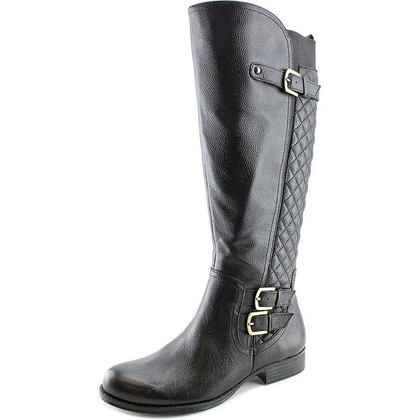 Naturalizer Womens JAMON Round Toe Knee High Riding Boots