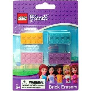 LEGO Friends Brick Erasers 4-Pack - multi