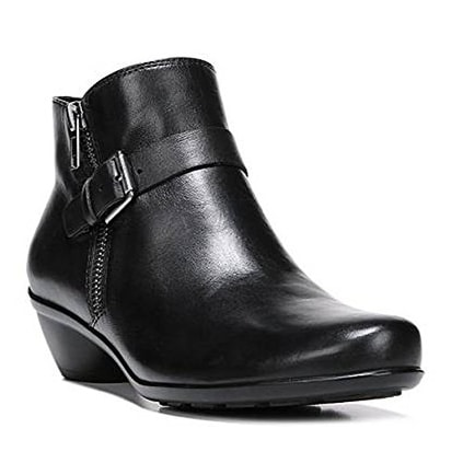 Naturalizer Womens Hitch Leather Closed Toe Ankle Fashion Boots