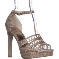 Adrianna Papell Morgan Platform Dress Sandals, Platino