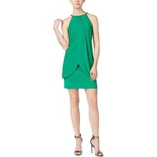 Jessica Simpson Womens Cocktail Dress Embellished Sleeveless