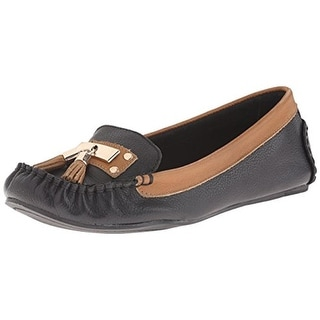 Very Volatile Womens Anibal Leather Tassel Loafers
