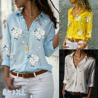 Link to New Women's Printed Wild Shirt Similar Items in Dresses