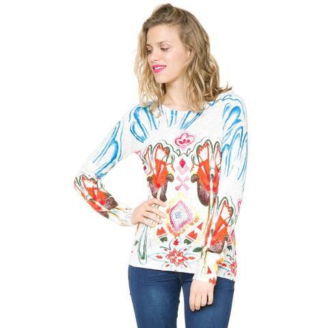 Desigual Cailin Sweater Multi, Medium