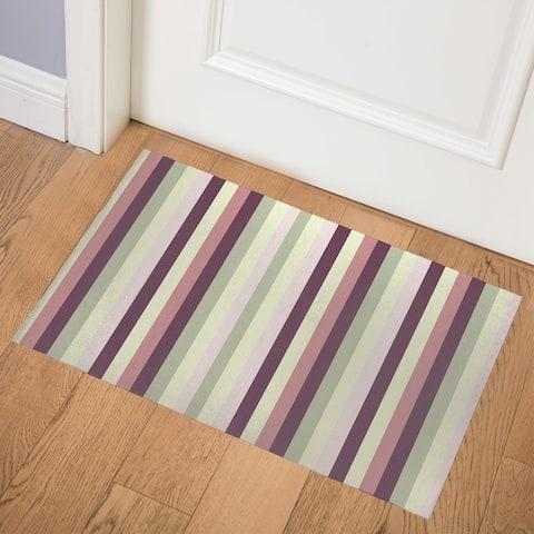 IVY BOLD STRIPE Indoor Floor Mat by Kavka Designs