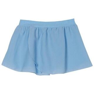 Sansha Little Girls Light Blue Elasic Waist Serenity Pull-on Dance Skirt 8-18 (Option: 10)