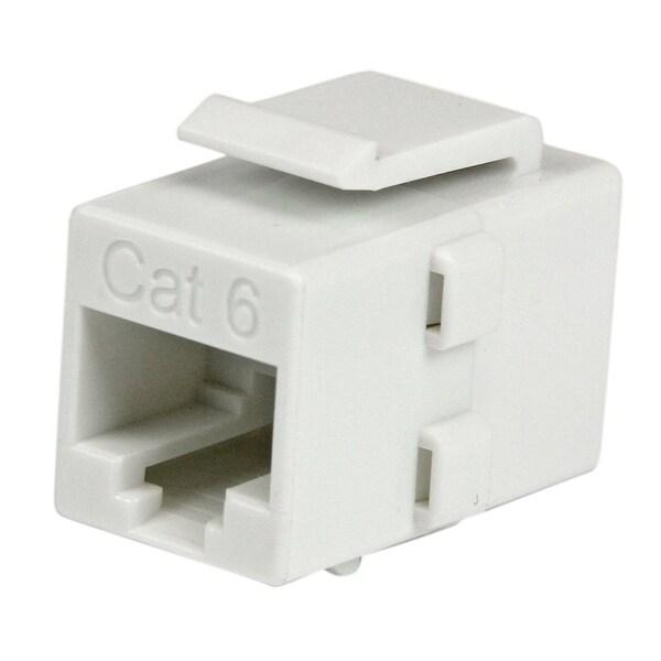 Startech C6keycouplwh Cat 6 Rj45 Keystone Jack Network Coupler F/F - White