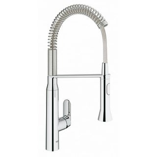 Good Grohe 31 380 K7 Pre Rinse Kitchen Faucet With 2 Function Toggle Sprayer