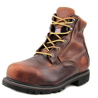 "HyTest by Wolverine USA 6"" Steel Toe Men 3E Steel Toe Leather Work Boot"