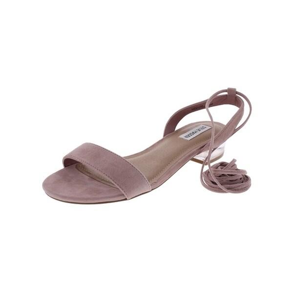 Steve Madden Womens Carolynn Dress Sandals Open Toe Slingback