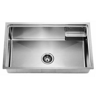Undermount Small Corner Radius Single Bowl Kitchen Sink - 29.63 x