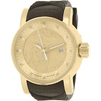Invicta Men's S1 Rally  Brown Rubber Automatic Dress Watch
