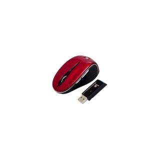 SwissGear The Pantera II Wireless Optical Mini Mobile Mouse (Red)