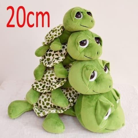 Hot Sale Children Cute Big Eyes Green Tortoise Sea Turtle Doll Plush Toy Gift 20Cm/7 8Inch