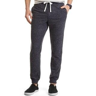 Nautica Slim Leg Knit Drawstring Sweatpants Blue X-Large
