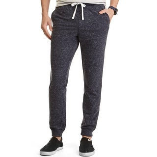 Nautica Slim Leg Knit Drawstring Sweatpants Blue X-Large