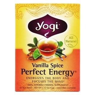 Yogi Tea Van Spice Perfect Energy (16 Bags)