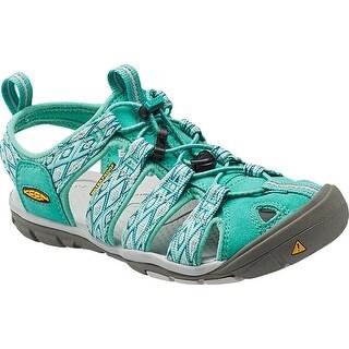 Keen Clearwater CNX Women Sandal, Water Shoe, Lagoon/Vapor