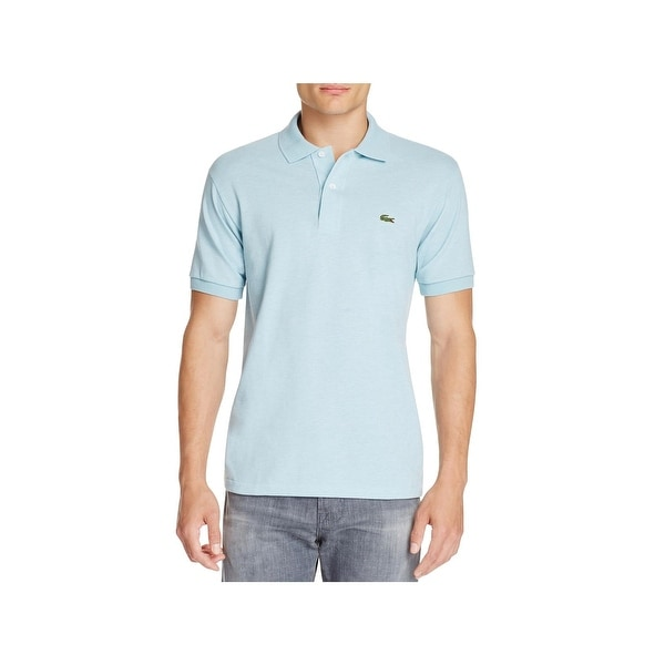 51444b41 Shop Lacoste Mens Polo Shirt Pique Classic Fit Blue M - Free Shipping On  Orders Over $45 - Overstock - 22485835