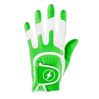 Powerbilt One-Fit Adult Golf Glove - Ladies LH Green/White