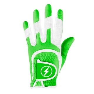 Powerbilt One-Fit Adult Golf Glove - Ladies LH Green/White