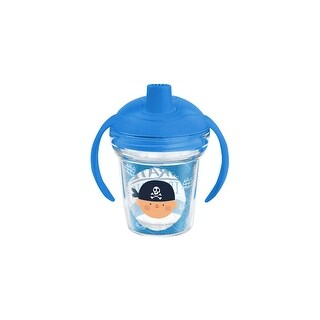 Pirate in Training 6 oz Sippy with lid