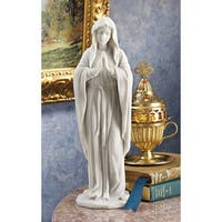 Design Toscano  Blessed Virgin Mary Bonded Marble Statue