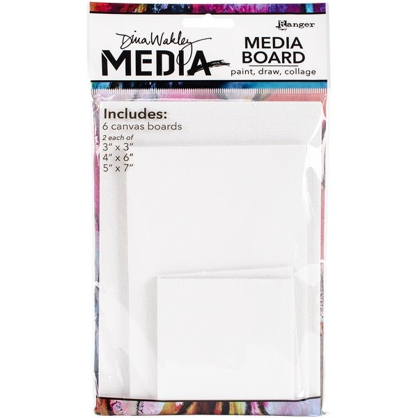 Dina Wakley Media Board Mixed Pack-
