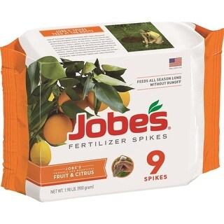 Jobe's 01312 Fruit & Citrus Trees Fertilizer Spikes, 9-12-12