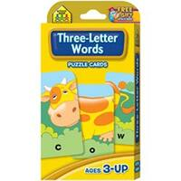 Three-Letter Words - Game Cards