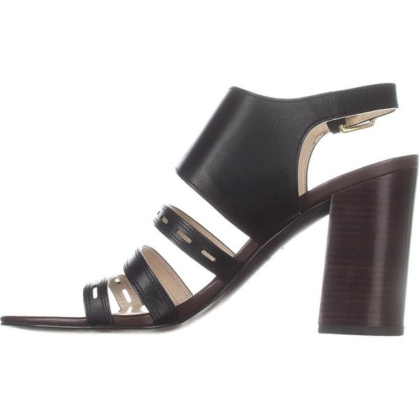 Cole Haan Womens lavelle Leather Open Toe Casual Ankle Strap Sandals