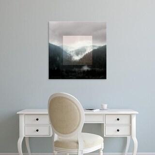 Easy Art Prints Laura Marshall's 'Framed Landscape I' Premium Canvas Art