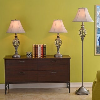 Link to Thirsk Silver Lamps (Set of 3) Similar Items in Table Lamps