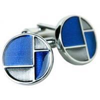 Retro Blue and Grays Cufflinks