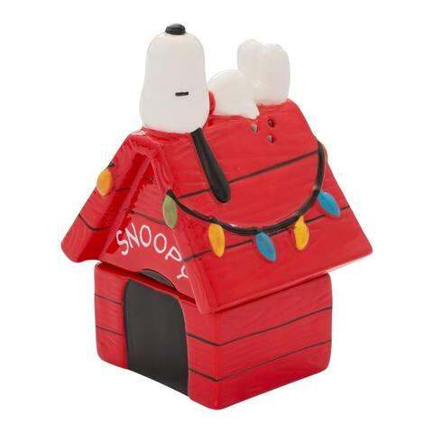 Peanuts Figurines Ceramic Salt and Pepper Shaker Set- Snoopy