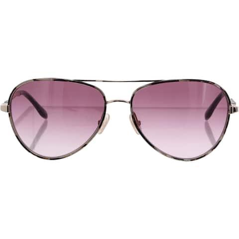 BCBGMAXAZRIA Womens Aviator Sunglasses Printed UV Protection - Ethereal Gold - O/S